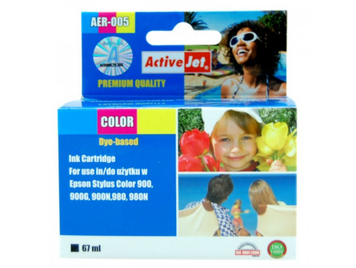 Tusz Epson T050 AER-050BK 16ml Ref   Stylus Color: 400, 440, 440TV, 460, 500, 600, 640, 660, 670. Stylus Photo: 700, 710, 720, 7
