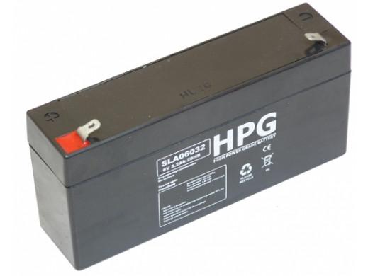 Akumulator żelowy 6V 3,3Ah Talvico