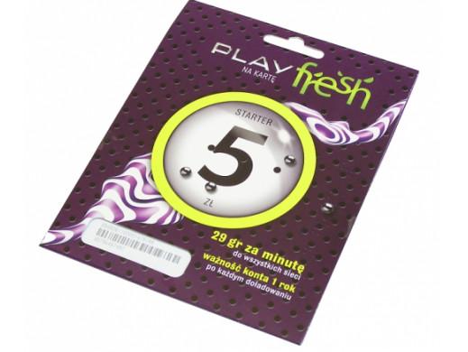 Zestaw Startowy Play 5 za darmo w Play