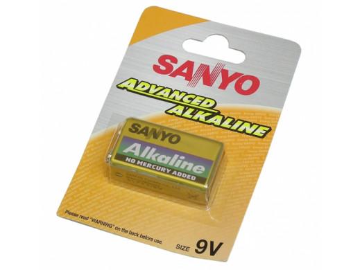Bateria R-9V Advanced Alkaline Sanyo