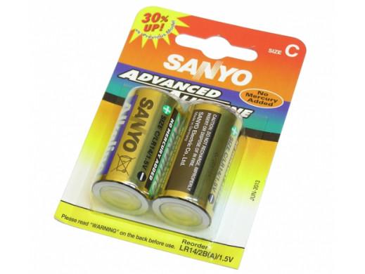Bateria R-14 Advanced Alkaline Sanyo