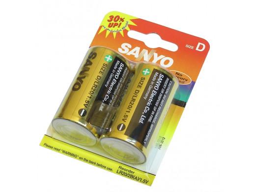 Bateria R-20 Advanced Alkaline Sanyo