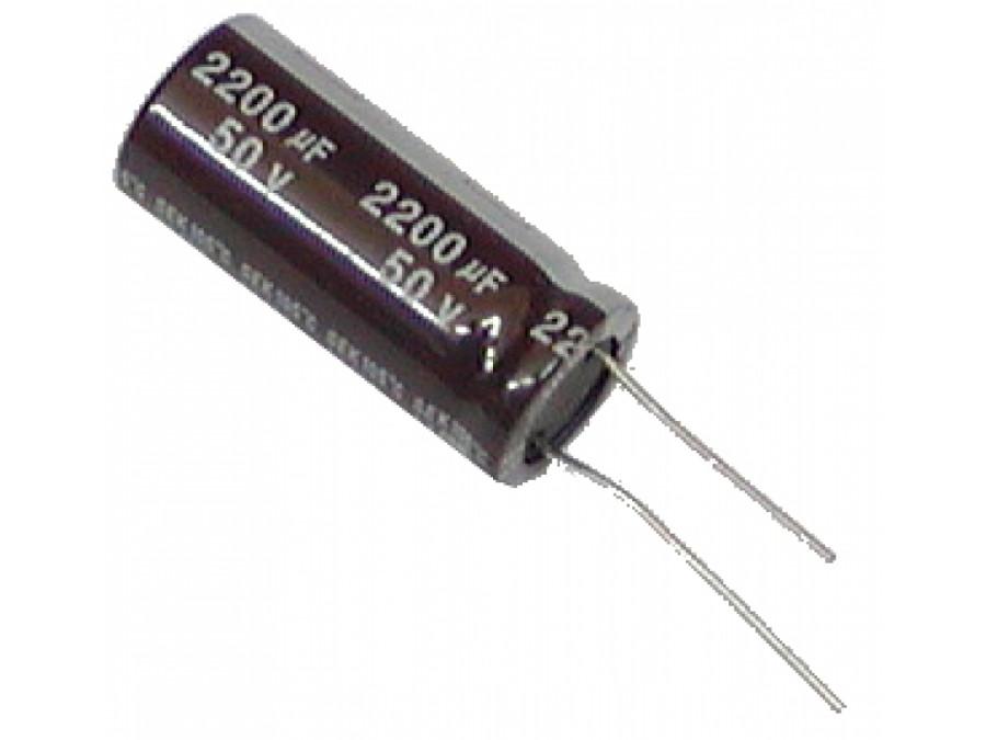 Kondensator elektrolityczny 2200uF/50V 105C