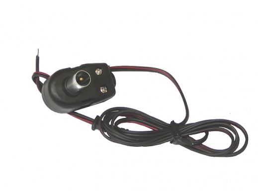 Wtyk antenowy z separatorem do zasilacza