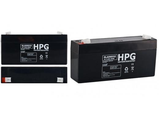Akumulator żelowy 6V 3,2Ah HPG 060032