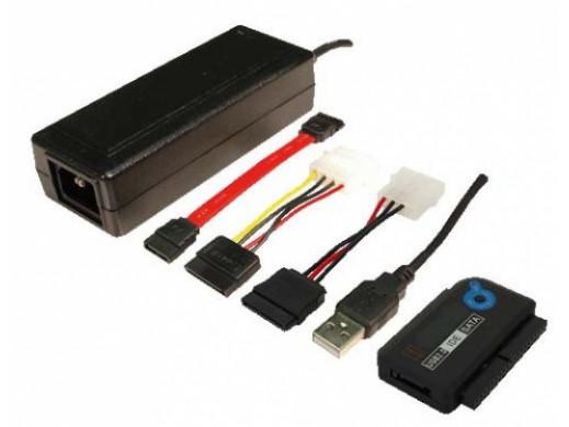 Adapter USB do IDE 2,5'' 3,5'' z zasilaczem LogiLink