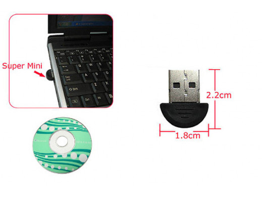 Bluetooth mini USB 2.0 EDR