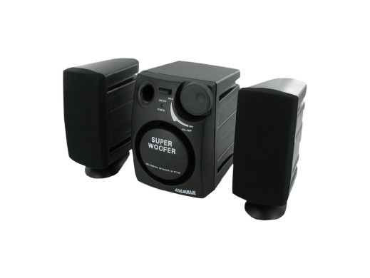 Głośniki komputerowe 2.1 4World 1200W PMPO