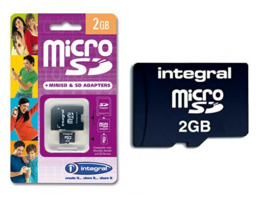 Karta pamięci micro sd 2gb...