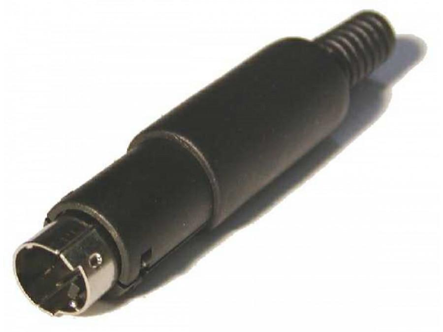 Wtyk SVHS 4 pin na kabel plastyk