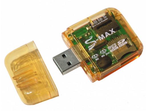 Czytnik kart pamięci all in 1 USB
