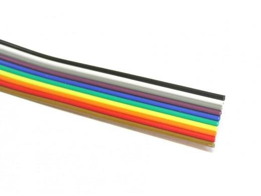 Kabel Taśma 10*0,12 kolor