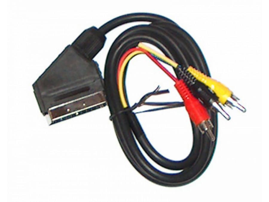 Przewód, kabel euro-3cinch 3m