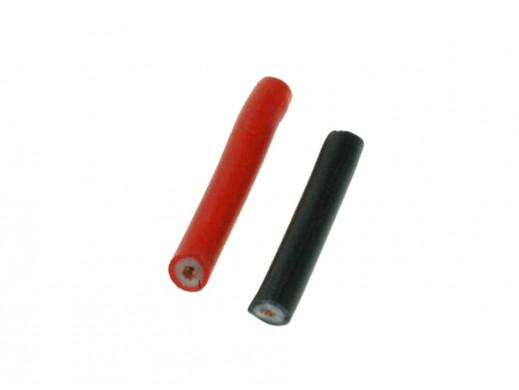 Kabel silikonowy 1mm2 Li2G-1 czarny Imax 20A