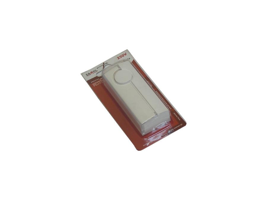 Przycisk dzwonkowy PDJ-213P podświetlany Zamel