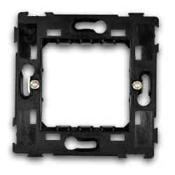 Ramka montażowa pojedyńcza LK45000 Kemot czarna
