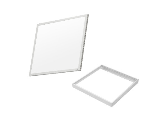 Zestaw natynkowy LED 595x595x8mm, 3200lm Neutral White (4000K) Maclean Energy MCE540+MCE543