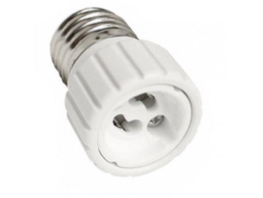 Adapter żarówki E27 na GU10