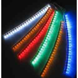 Listwa 24 LED 24cm zimny biały 12V w silikonie