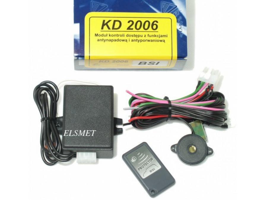 Moduł kontroli dostępu KD2006 z funkcjami antynapadowa i antporwaniowa  z pilotem AMT