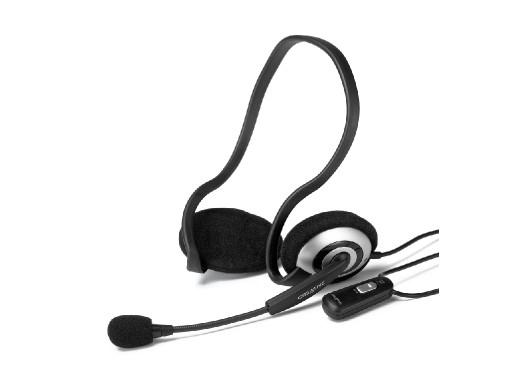 Słuchawki z mikrofonem nauszne  HS-390 MSN Creative