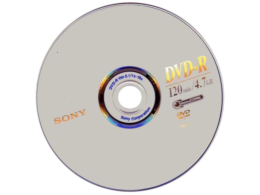 Płyta DVD+R SONY 4,7GB 16x bez opakowania
