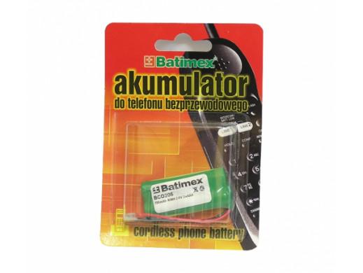 Akumulator Bco206 2,4V 700mAh 2*AAA Batimex