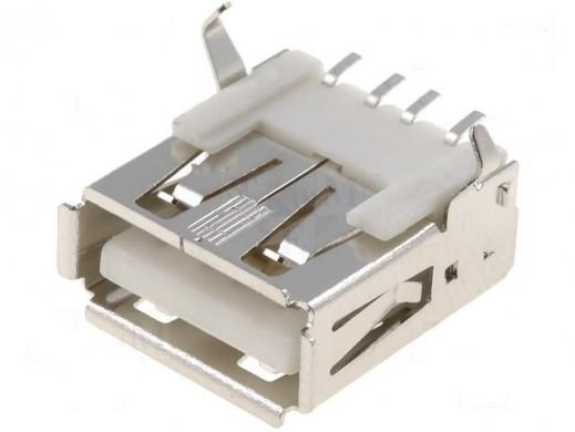 GNIAZDO USB typ A montażowe...