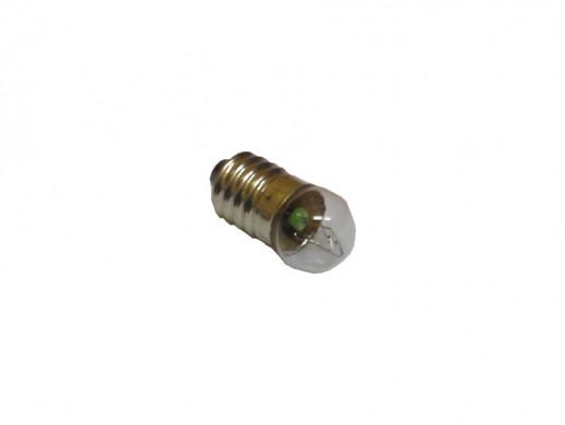 Żarówka E10 12V 100mA 1,2W fi 10*28mm z gwintem