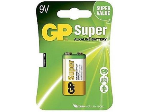 Bateria R-9V 6LR61 GP Alkaline
