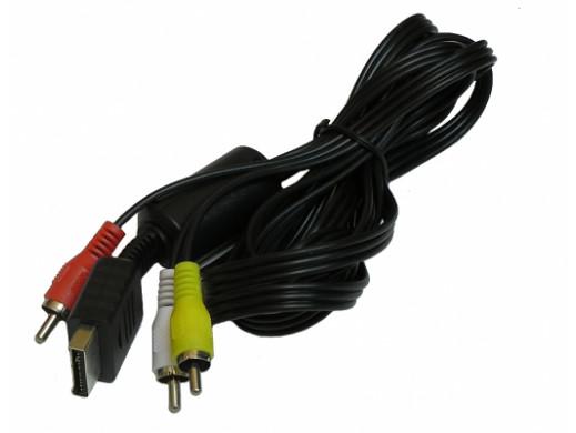 Przewód AV do PS3 Playstation 3 cinch