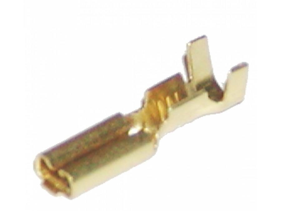 Konektor 2,8mm męski wsuwka