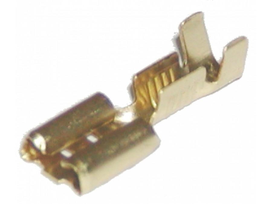 Konektor 6,3mm żeński