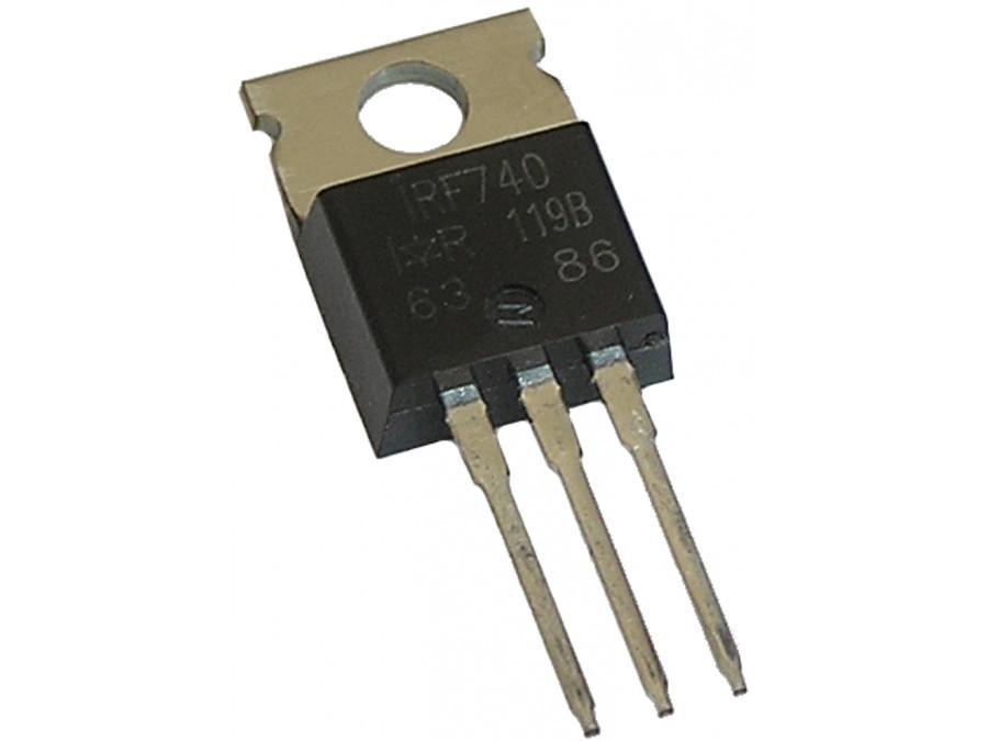 Tranzystor IRF740 N-mosfet 400V 10A 125W TO220