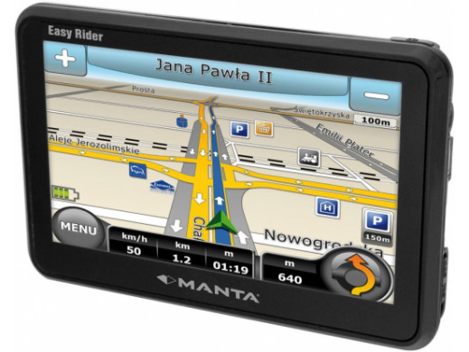 Nawigacja Manta GPS440 MapaMap 6