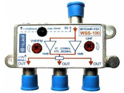Wzmacniacz antenowy WSS-100...