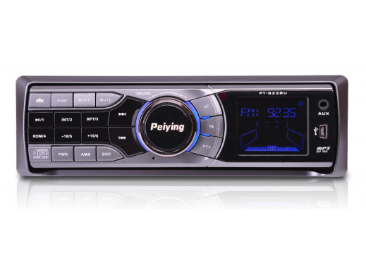 Radioodtwarzacz Peiying PY8228 CD/MP3/USB/CD/MMC 4x45W