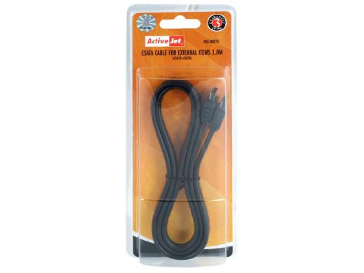 Przewód, kabel SATA-ESATA 1m wtyk-wtyk do do urządzeń zewnetrznych