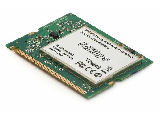 Karta WiFi do laptopa mPci TL-WN562AG bezprzewodowa