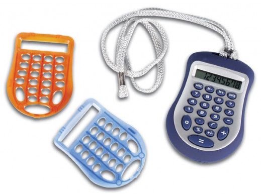 Kalkulator CAL8C + 2 obudowy