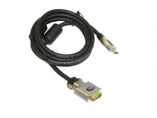 Przewód DVI-HDMI 1,8m Vitalco