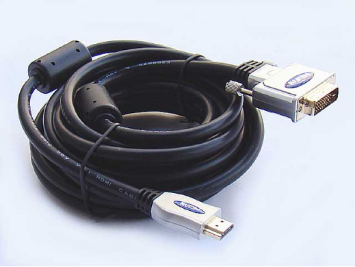 Przewód DVI-HDMI 5m Daytona blister
