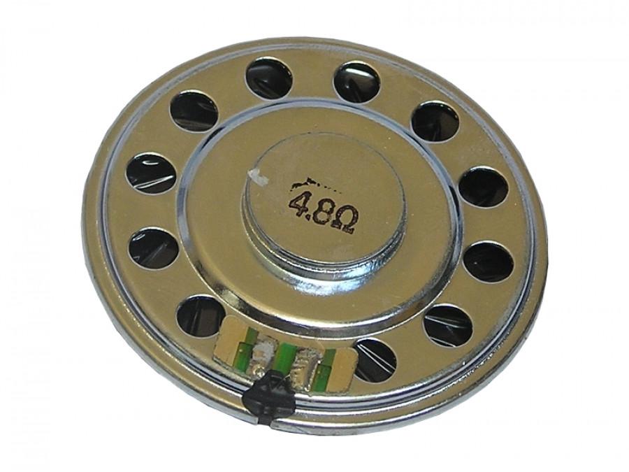 Głośnik miniaturowy 5cm 0,1W 4,8R