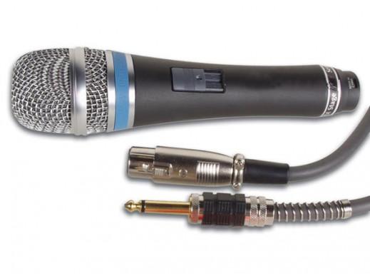 Mikrofon dynamiczny MICPRO5 + statyw + pokrowiec