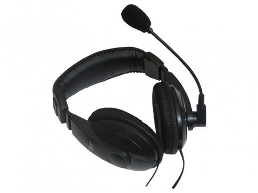 Słuchawki z mikrofonem AP-22M MEGABASS ART