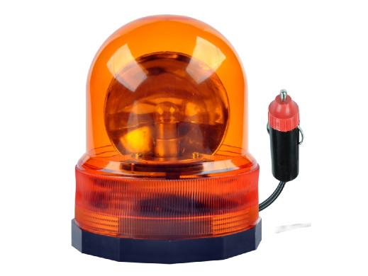 Lampa kogut pomarańczowa 12V