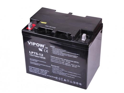 Akumulator żelowy 12V 75Ah VIPOW