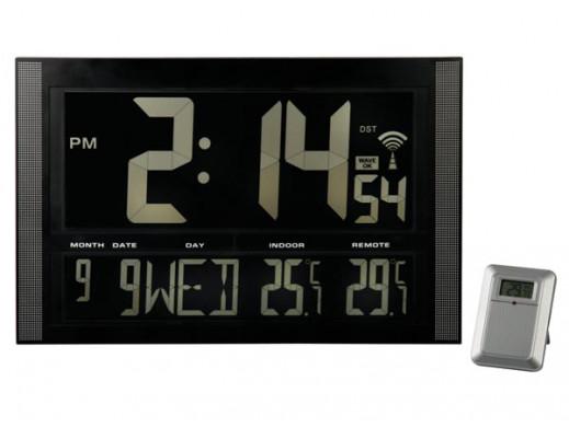 Zegar ścienny WC1857 LCD...