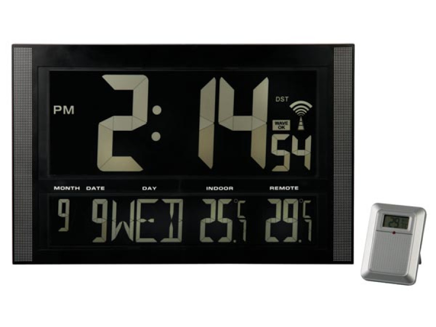 Zegar ścienny WC1857 LCD Velleman