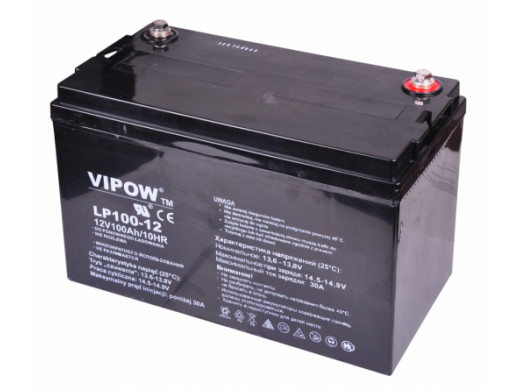 Akumulator żelowy 12V 100Ah Vipow